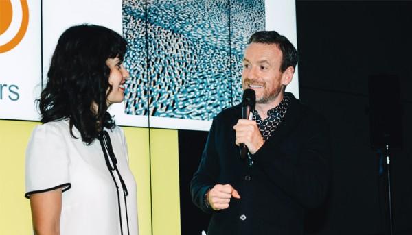 Vanessa Valero discussing her design process at the Van Gogh Museum